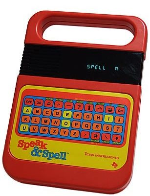 Throwback Thursday – Speak and Spell