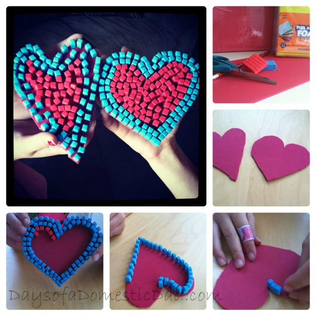 Mosaic Heart collage