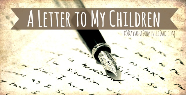 letter to children