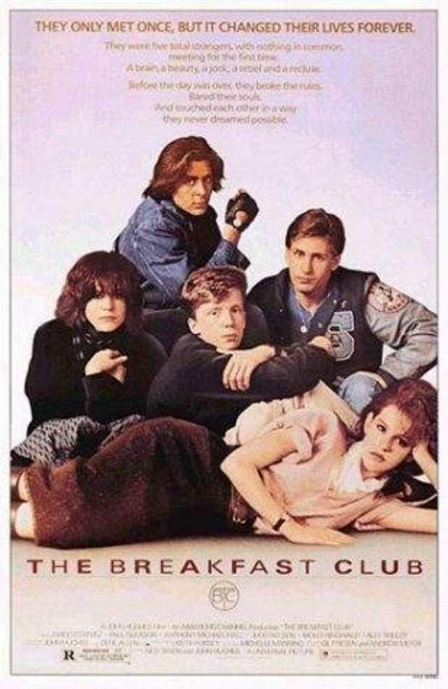 80's Movies Breakfast Club