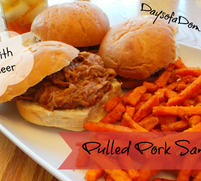 Pulled Pork Made with Root Beer