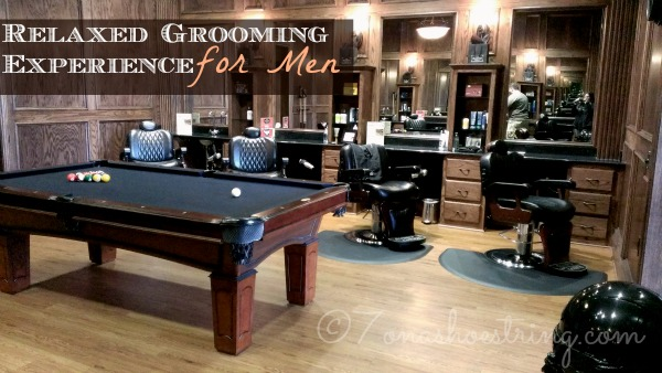 Relaxed grooming experience at the boardroom for The barbershop a hair salon for men