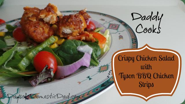 Daddy Cooks: Tyson BBQ Chicken Strips