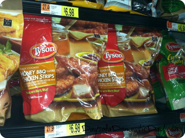 Tyson BBQ Chicken Strips
