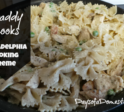 Daddy Cooks – PHILADELPHIA Cooking Creme