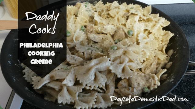 Daddy Cooks – PHILADELPHIA Cooking Creme
