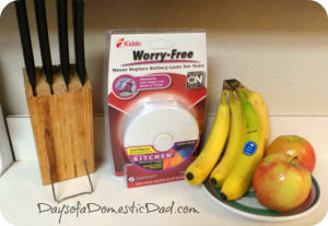 Kidde worry-free smoke alarm