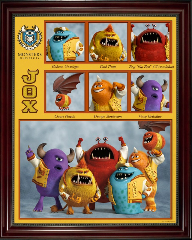 Monsters University fraternity
