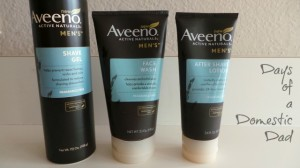Clean Up and Shave Close with Aveeno Mens