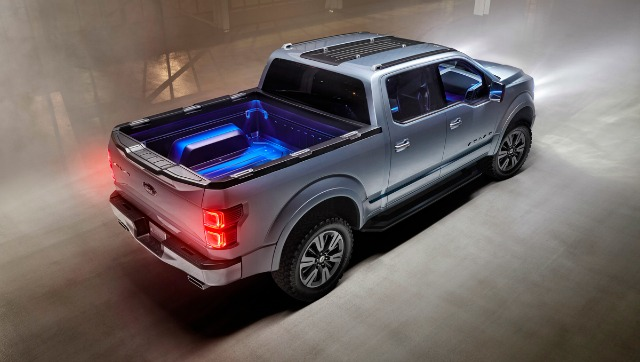 Ford Atlas Concept bed