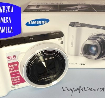 Easy to Use WB200 Smart Camera by Samsung