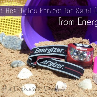 Bright Headlights from Energizer Perfect for Sand Crabs