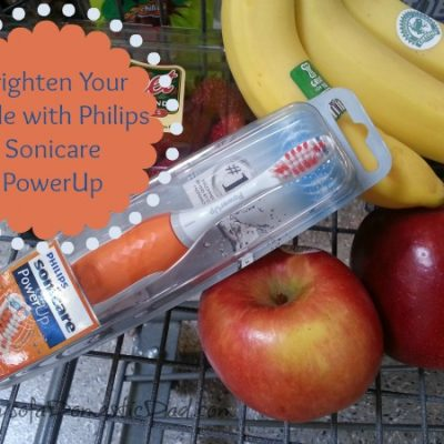 Brighten Your Smile with Philips Sonicare PowerUp #PowerUpurSmile