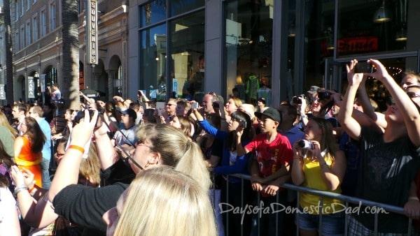 Disney Planes Premiere Crowd