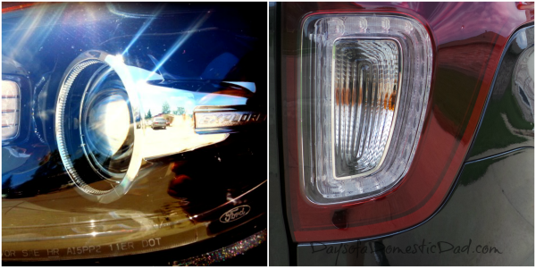 2013 Ford Explorer Head and Tail Lamp