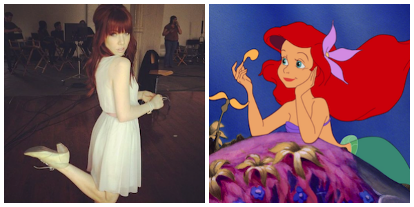 Carly Rae Jepsen The Little Mermaid