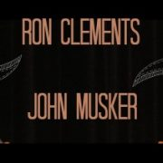 Ron Clements and John Musker