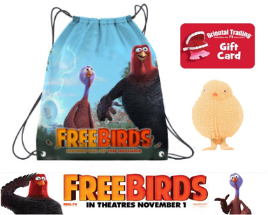 Free Birds Prize Pack