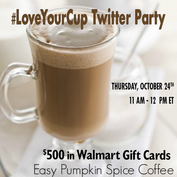 #LoveYourCup Twitter Party