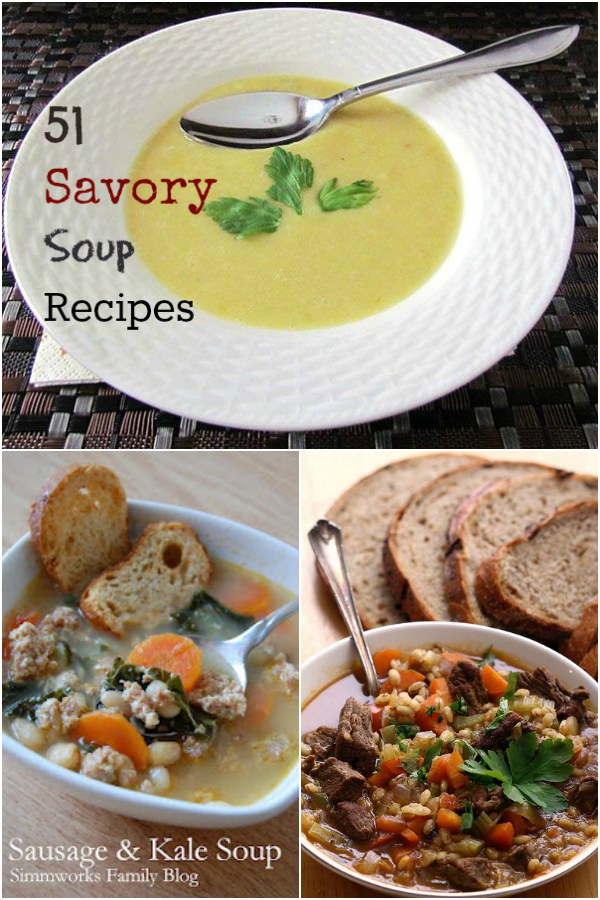 51 Savory Soup Recipes