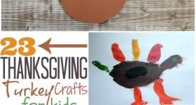 23 Thanksgiving Turkey Crafts for Kids