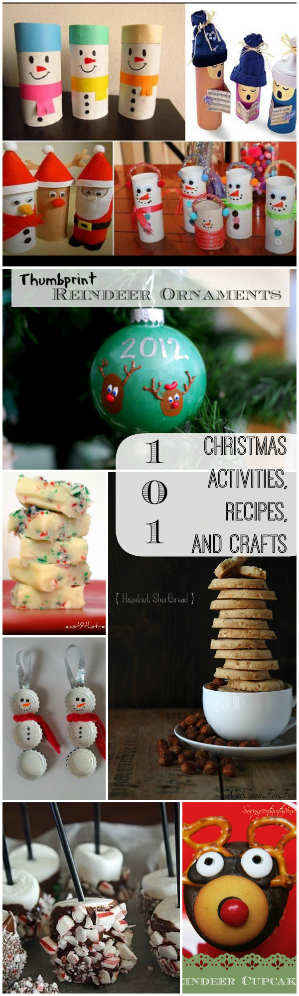 101 Christmas Activities Recipes and Crafts
