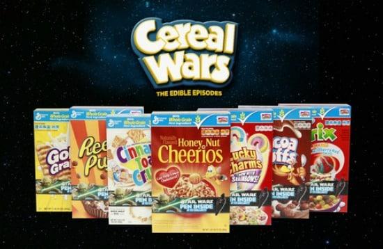 Big G #CerealWars Edible Episodes & Giveaway