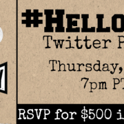 #HelloAio Twitter party