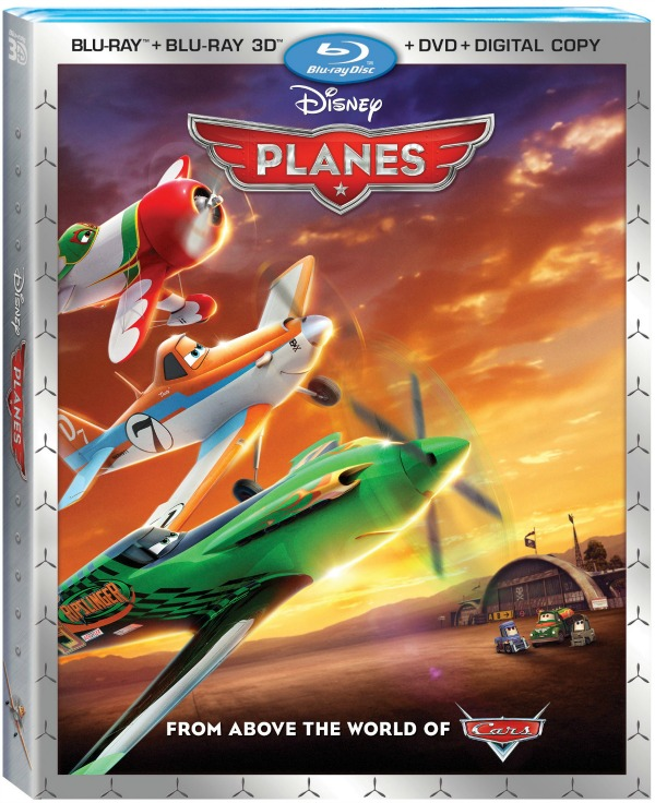 PLANES Blu ray 3D