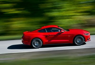 Ford Mustang 50th Anniversary has an All-New Sleek Design