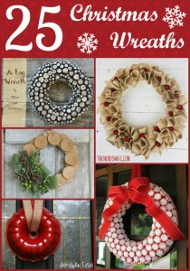 Christmas Wreath Round Up