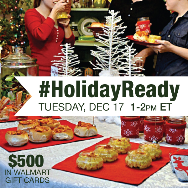 #HolidayReady Twitter Party 12-17