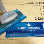 Clean Up Made Easy with the Swiffer Bissell SteamBoost Mop