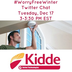 Kidde #WorryFreeWinter Twitter Chat