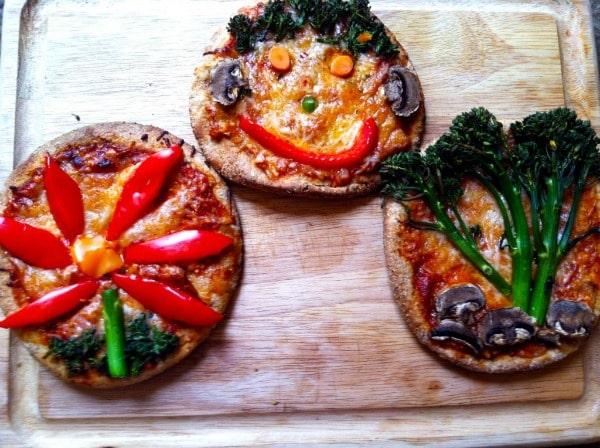 Pita-Pizzas