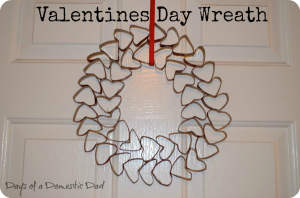 Valentines Day Wreath Craft