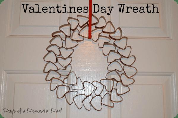 Valentines Day Wreath Craft