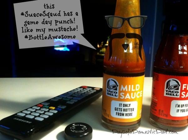 Taco Bell Sauces #SauceSquad #BottledAwesome