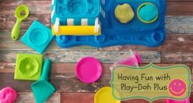 Having Fun with Play-Doh Plus