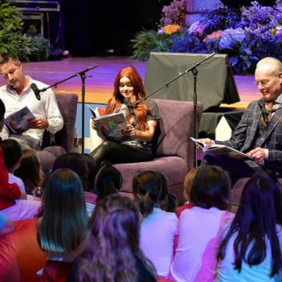 Disney Junior's Give a Book Get a Book – Star-Studded Book Reading