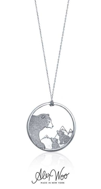 Win an Alex Woo Silver Necklace