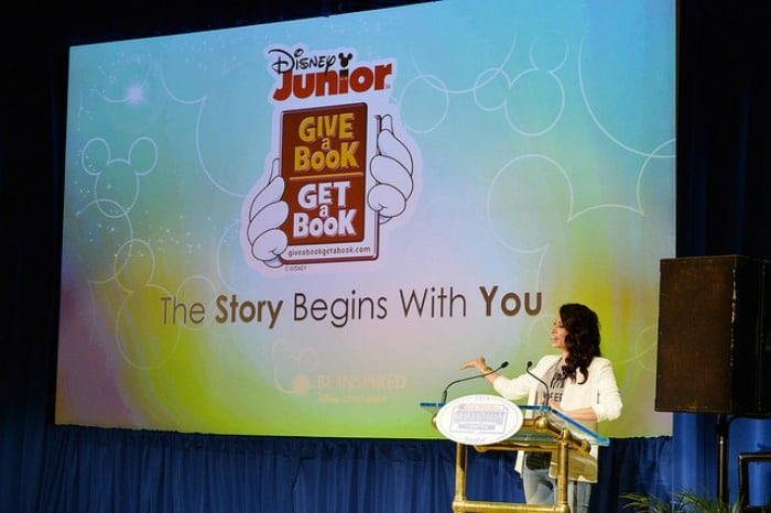 Disney Junior's Give a Book