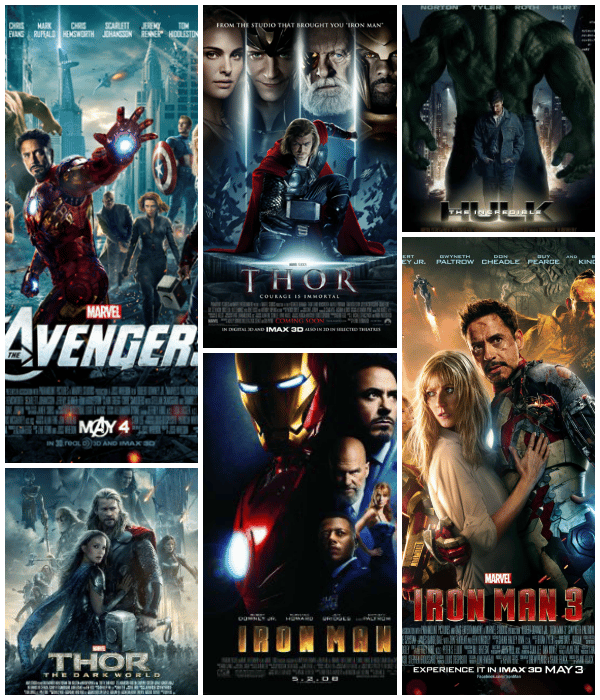 Marvel Collage