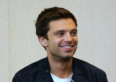 Sebastian Stan is the Winter Soldier #CaptainAmericaEvent