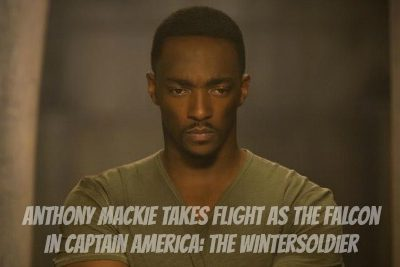 Anthony Mackie Takes Flight as The Falcon #CaptainAmericaEvent