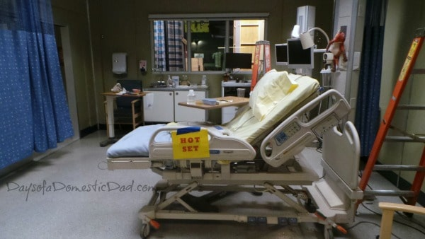 a tour of the Grey's Anatomy set