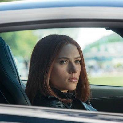 Scarlett Johansson is the Black Widow #CaptainAmericaEvent