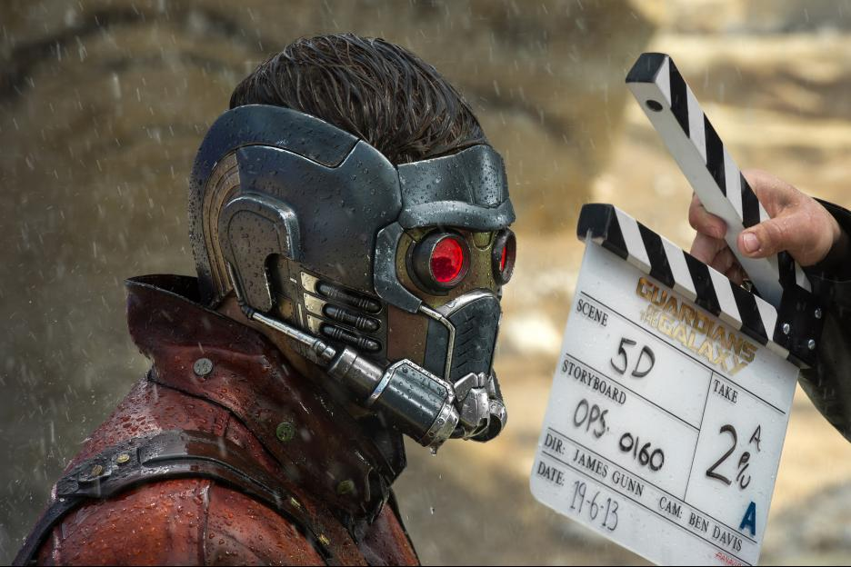 Guardians of the Galaxy Fun Facts and Behind the Scenes Images #GuardiansOfTheGalaxy