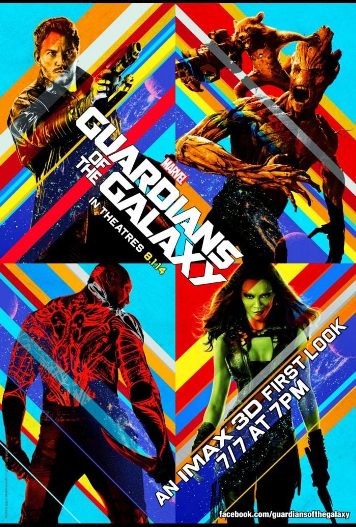Guardians of the Galaxy Sneak Peek in IMAX