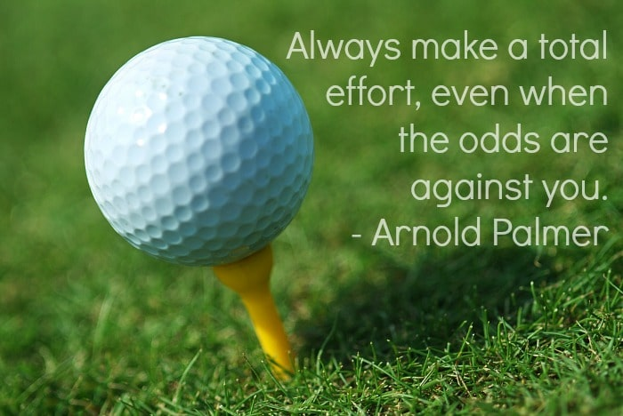 Arnold Palmer Quotes Impressive Encourage Your Young Athletes With A Few Motivational Sports Quotes